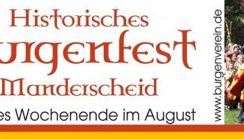 Historisches burgenfest Manderscheid