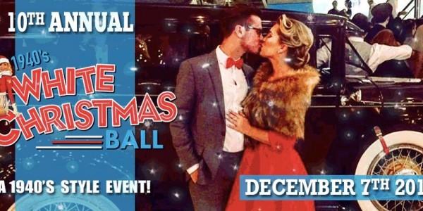 1940s White Christmas Ball