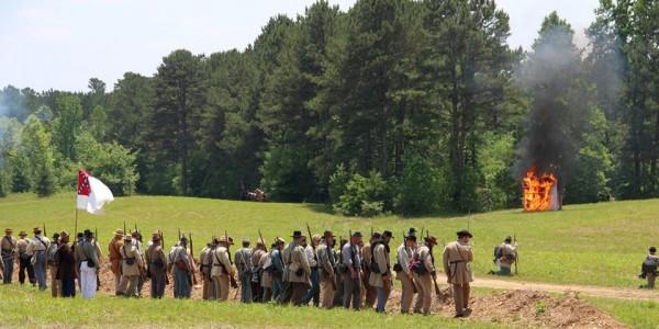 Battle of Resaca Civil War Reenactment