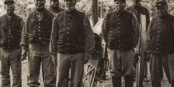 Fort Pocahontas Civil War reenactment