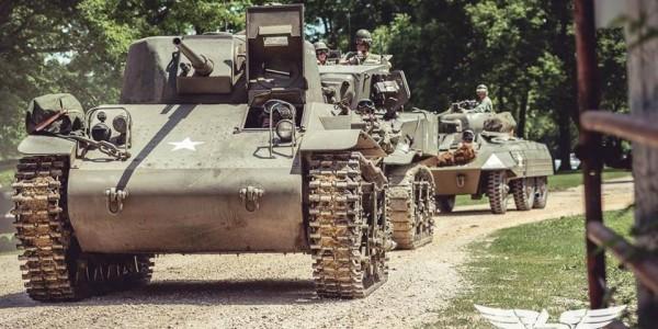 WWII Recreated Dixon, IL