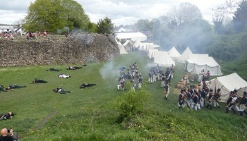 Napoleonic Living History Weekend at Whittington Castle