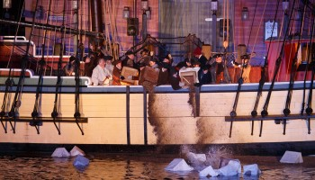 Boston Tea Party Reenactment