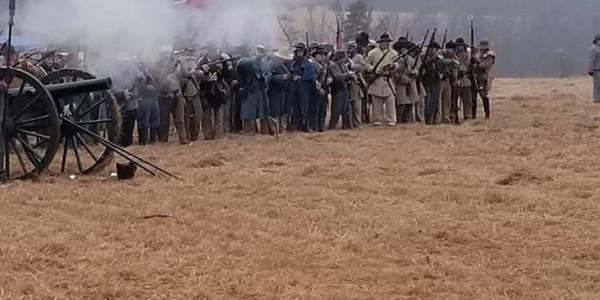 Battle of Round Mountain reenactment