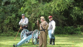 Civil War Living History Encampment