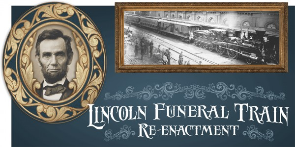 Lincoln Funeral Train reenactment