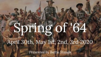 Spring of '64 Civil War reenactment
