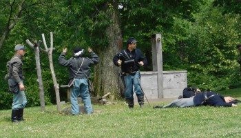 Civil War Weekend at Lincoln Log Cabin