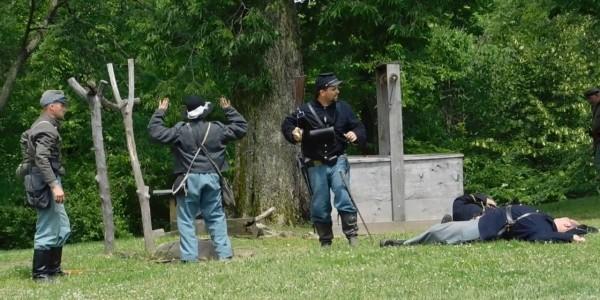 Civil War Weekend at Lincoln Log Cabin