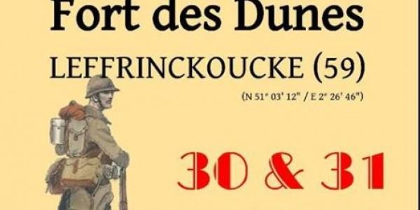 Reenactment at Fort Des Dunes - Leffrinckoucke