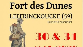 Reenactment at Fort Des Dunes - Leffrinckoucke