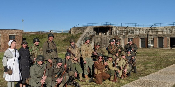 The Fall Campaign WWII Living History