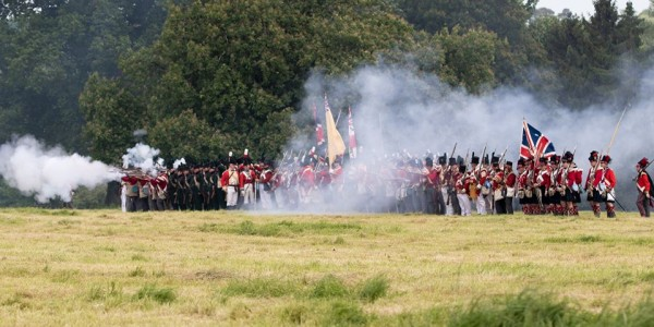 Napoleonic Reenactment Weekend at Hole Park Garden