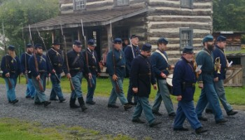 Old Bedford Village Union Soldiers & Civilians Encampment