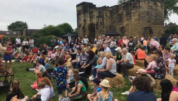 Medieval May-hem at Monk Bretton Priory